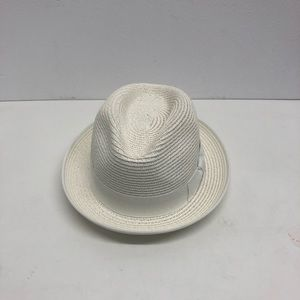 St. Patrick straw hat white band